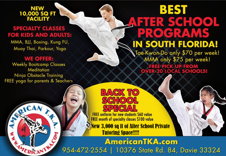 A+ After School Program | American TKA Martial Arts